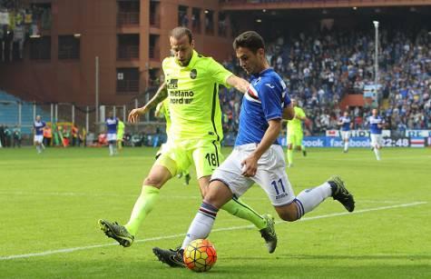 Federico Bonazzoli con la maglia della Sampdoria ©Getty Images