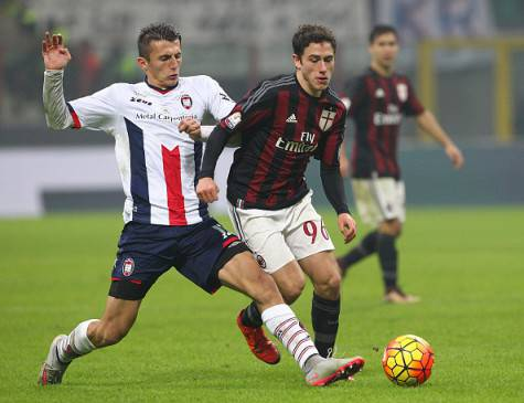 Ante Budimir in Milan-Crotone di Coppa Italia ©Getty Images