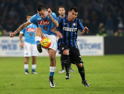 Hamsik in azione ©Getty Images