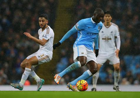 Yaya Touré in azione ©Getty Images