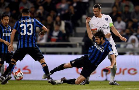 Andrea Ranocchia in Inter-Psg a Doha ©Getty Images