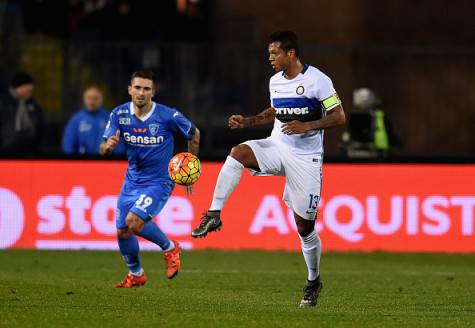 Fredy Guarin in azione ©Getty Images