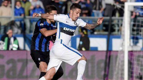 Stevan Jovetic in Atalanta-Inter ©Getty Images