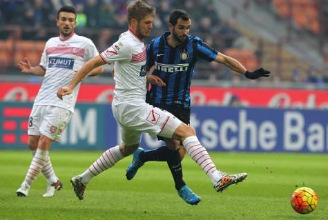 Martin Montoya in azione con la maglia dell'Inter ©Getty Images