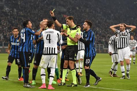 Juventus-Inter 3-0, Tagliavento concede rigore ai bianconeri ©Getty Images