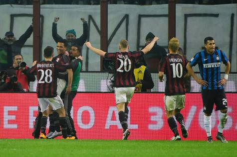 Milan-Inter 3-0 ©Getty Images