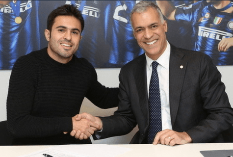 Eder firma con l'Inter / Getty Images