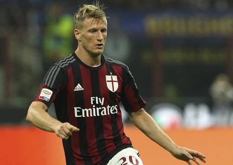 Abate nel derby d'andata (Getty Images)