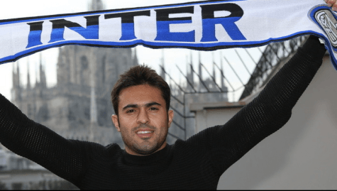 Eder con la sciarpa dell'Inter (Getty Images)