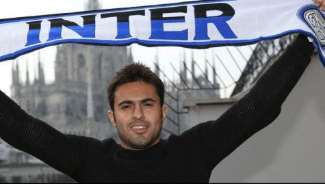 Eder con la sciarpa dell'Inter (Getty Images)