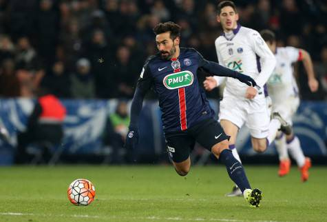 Ezequiel Lavezzi in azione ©Getty Images