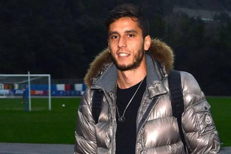 Ricky Alvarez a Bogliasco come nuovo giocatore della Sampdoria