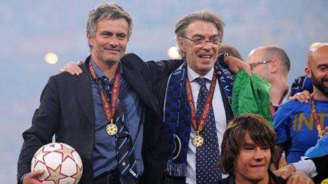 Madrid, Mourinho e Moratti dopo la vittoria della Champions ©Getty Images