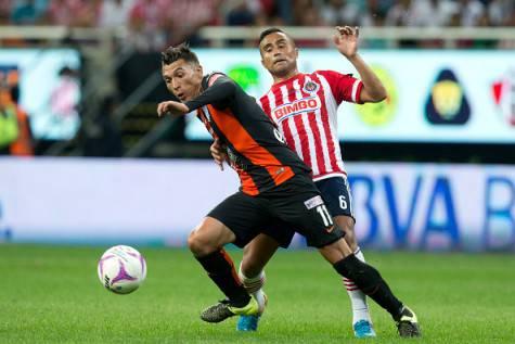 Rubén Botta in azione con la maglia del Pachuca ©Getty Images