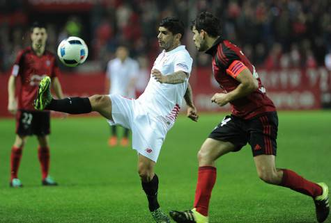 Ever Banega in azione ©Getty Images