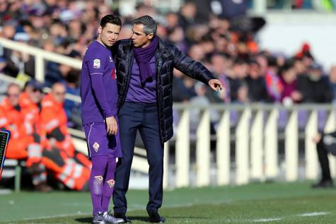 Mauro Zarate con Paulo Sousa ©Getty Images