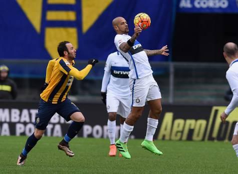 Felipe Melo in Verona-Inter ©Getty Images