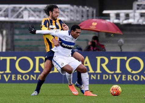 Juan Jesus contro Toni in Verona-Inter ©Getty Images
