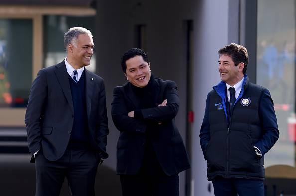 Inter, Thohir con Bolingbroke e Duque alla Pinetina ©Getty Images