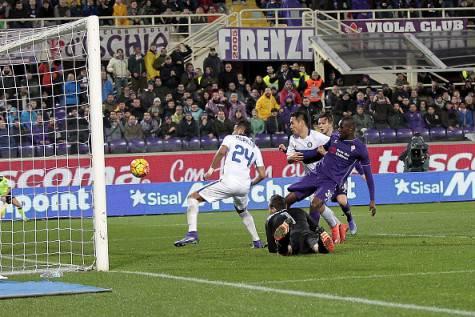 Fiorentina-Inter 2-1, Babacar segna il gol vittoria ©Getty Images