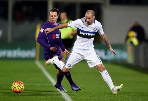Rodrigo Palacio in Fiorentina-Inter ©Getty Images
