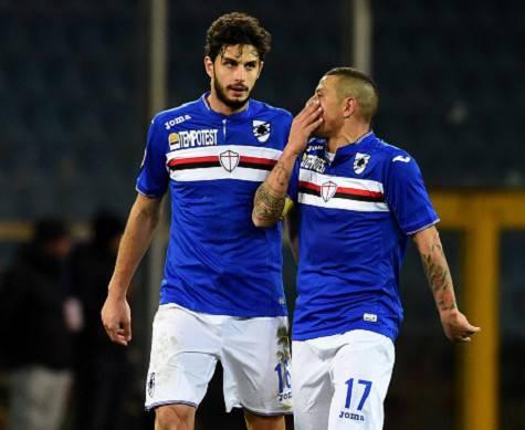 Ranocchia parla con Palombo, anche lui ex Inter ©Getty Images