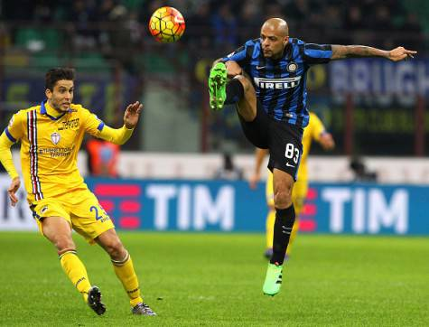 Alvarez contro Melo in Inter-Sampdoria ©Getty Images