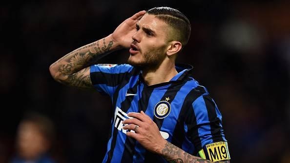 Mauro Icardi esulta dopo il gol ©Getty Images