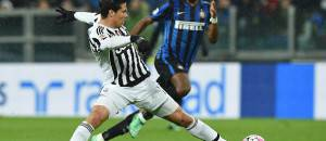 Hernanes in azione contro l'Inter ©Getty Images