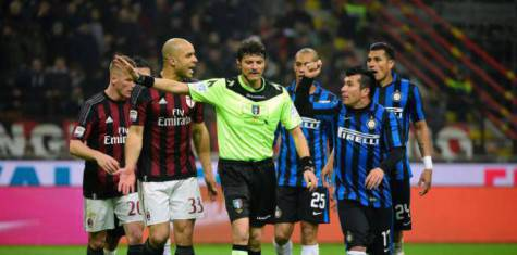31 gennaio 2015, Milan-Inter 3-0 ©Getty Images
