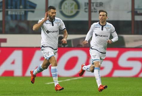 Antonio Candreva esulta per il gol all'Inter ©Getty Images
