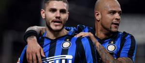 Icardi con Felipe Melo ©Getty Images