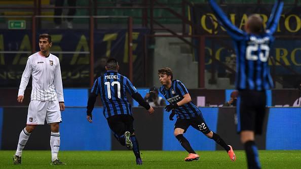Inter-Palermo 3-1, il vantaggio nerazzurro firmato Ljajic ©Getty Images