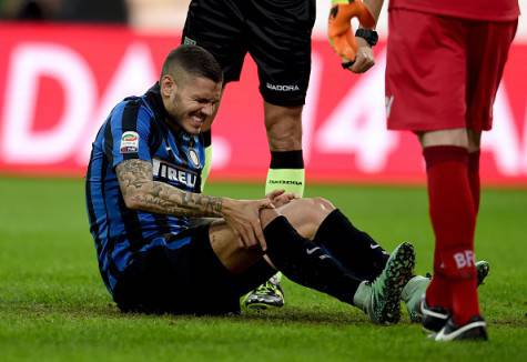 Icardi si infortunia al ginocchio ©Getty Images