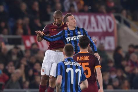 Roma-Inter 1-1, Perisic contro Keita ©Getty Images
