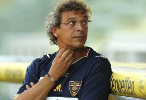 Moriero da allenatore del Lecce (Getty Images)