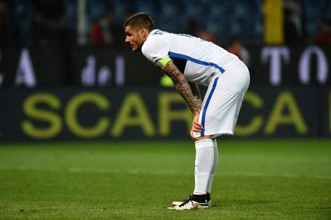 Genoa-Inter 1-0, le parole di Icardi ©Getty Images