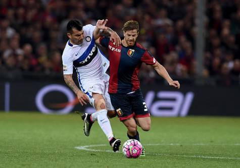 Inter, Ansaldi contro Medel al 'Ferraris' ©Getty Images