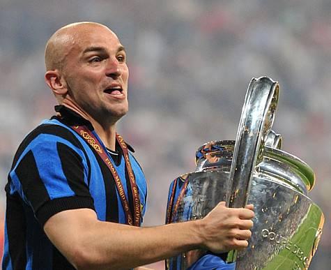 Cambiasso con la Champions a Madrid ©Getty Images