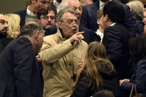 Juventus-Inter, Moratti
