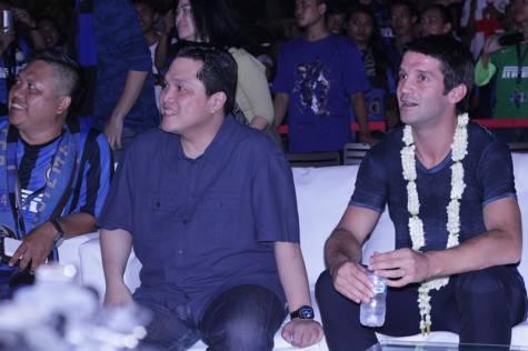 Inter, Thohir e Chivu alla festa InterClub Indonesia ©inter.it