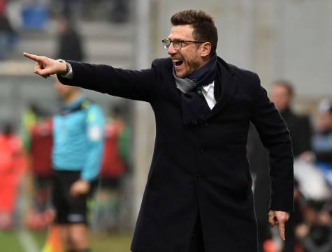 Sassuolo-Inter 3-1, Di Francesco ©Getty Images