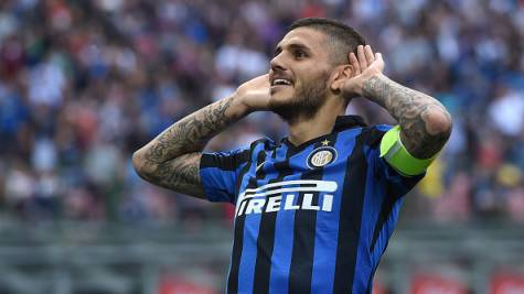 Icardi, il capitano dell'Inter ©Getty Images