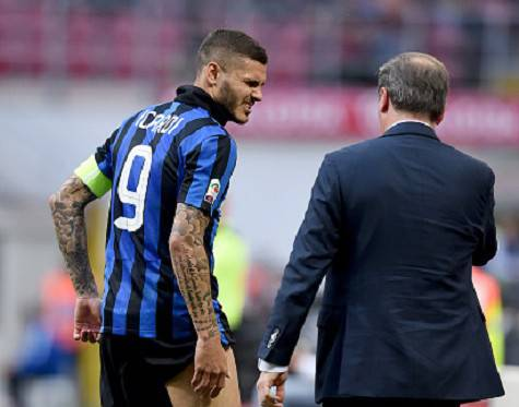 Inter-Empoli 2-1, Icardi ko al 65' ©Getty Images