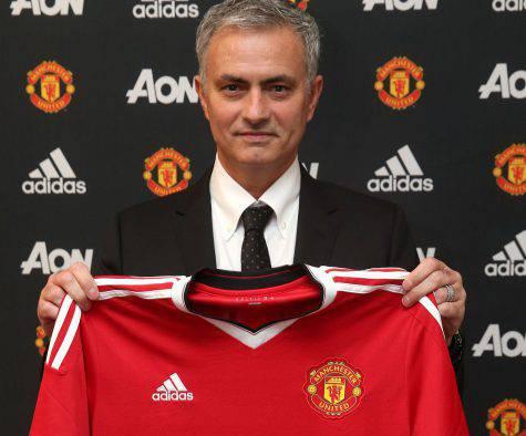 Mourinho al Manchester United