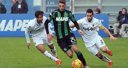 Berardi in azione ©Getty Images