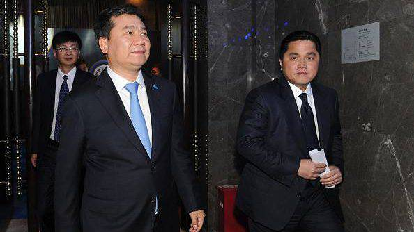 Inter, Thohir e Zhang ©Getty Images
