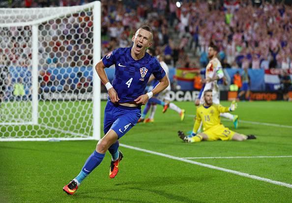 Inter, Ivan Perisic con la Croazia ©Getty Images
