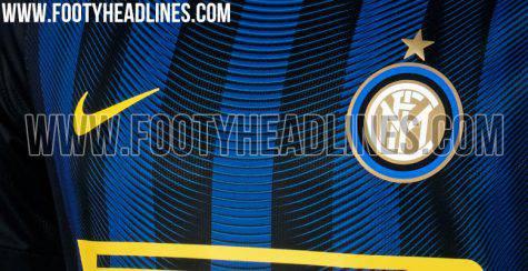 Inter, ecco la possibile maglia 2016-2017 ©footyheadlines.com