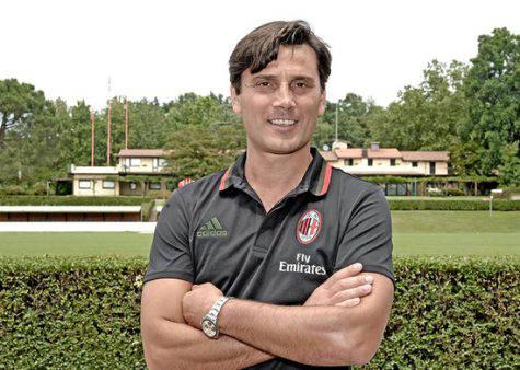 Montella da tecnico del Milan (Getty Images)